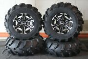 Grizzly 350i Irs 25 Mud 589 Atv Tire Raptor Wheel Kit Made In Usa Irs1ca