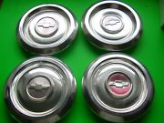 4 Chevy Chevrolet Citation Center Hubcaps Vintage 1980and039s Usa