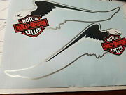 Gas Tank Decals Harley Springer Softail Eagle Fxsts Bar Shield Wings Pr Stickers