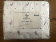 Rachel Ashwell Simply Shabby Chic 100 Polyester Fabric 4 Pc Queen Lavender Set