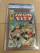Marvel Comics - Iron Fist 14 Cgc 9.6 Off White Pages - Not Pressed