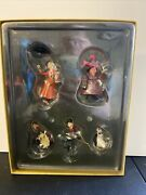 Retired Disney Mary Poppins 5pc Christmas Storybook Ornaments