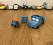 Disney Pixar Cars Unreleased Team Rev N Go Pitty And Crew Chief Cancelled