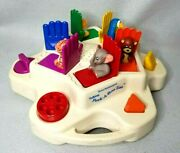 Vintage 1990 Texas Instrument Talking Peek A Boo Zoo Pop Up Toy Works Functional