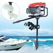 6hp 4-stroke 3.2kw 173cc Outboard Motor Boat Engine Ohv Air Cooled 360 Rotation