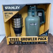 Stanley Tools Growler Cups Set Old Logo Canteen Thermos Stainless Steel Bottle
