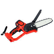 8 Inch 18v Electric Cordless Chainsaw Battery Powered Chain Saw Pruning Shears