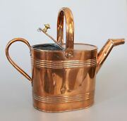 Antique 19th Century English Copper Watering Can