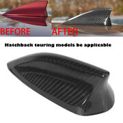 Roof Antenna Cover Real Carbon Fiber Shark Fin For 14-15 Mazda 3 Hatch Touring
