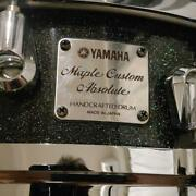Yamaha Asd0544 Maple Custom Absolute Snare Drum 14x4 Made In Japan