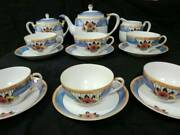 Old Noritake Last Cup Saucer Customer Full Set 15 Points