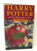 J.k.rowling. Harry Potter And The Philosopherand039s Stone. 1997. Signandeacute