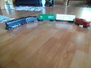 Marx Die-cast 2-4-2 999 Engine Tender Two Box Cars One Tin Caboose O Scale