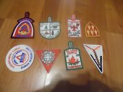 Boy Scout Of America Trail Patches Slide Tie Clasp