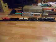 Marx 25000 Electric Train 999 Engine Tin Lithograph Cars Boxed O Scale