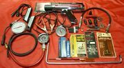 Muscle Car Tune Up Tool Set Points File Timing Compression Sun Vacuum Gauge Vtg