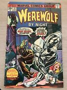 Werewolf By Night 32 1st Appearance Of Moon Knight