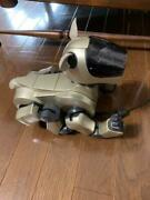 Sony Aibo Ers-210 Entertainment Robot Dog Gold Many Accessories Set