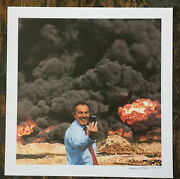 Peter Kennard Signed Lithographic Print. Photo Op Banksy Stik Dran. Sold Out