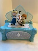 Elsa Anna And Olaf Disney Frozen Music And Jewelry Box.
