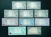 American Liberty Currency 50 20 10 5 1 X6. Norfed Silver Warehouse Rcp. Unc