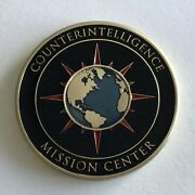 Cia Counterintelligence Mission Center Challenge Coin - Ncs Do Cimc