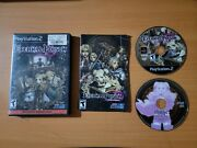 Eternal Poison Sony Playstation 2 2008 100 Complete Excellent