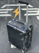 Rimowa Salsa Deluxe 22 Multiwheel Carry-on, Black, Spinner