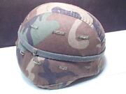 Military Pasgt Helmet Made With Kevlar M - 7 Lrg Read Below Unicor