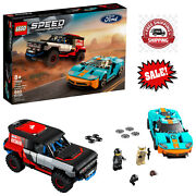 Lego Speed Champions Ford Gt Heritage Edition And Bronco R 76905 Building Toy