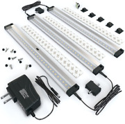 Eshine 3 12 Inch Panels Led Dimmable Under Cabinet Lighting Kit, Hand Wave -
