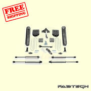 6 Basic Syst W/ Ss Shocks For Ford F550 4wd 10 Lug Chassis Cab 11-13 Fabtech