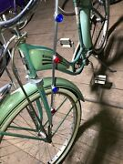 Front Crashbars Bicycle All Metal W/jewels Fit All Models 26 Cruisers Parade