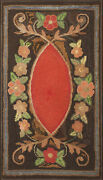 Antique American Hooked Rug 4and0390 X 2and0392
