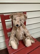 Antique Vintage Stuffed Jointed Mohair Teddy Bear 16andrdquo.