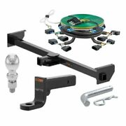 Curt Rv Hitch 500 Tw Tow Package 4 Drop Mount 2-5/16 Ball For 09-14 Ford F150