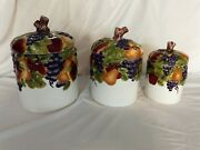 Better Homes And Garden Collection Home Interiors Sonoma Villa Fruit Motif Canis