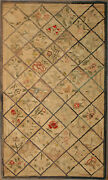 Antique American Hooked Rug 5and0390 X 3and0390