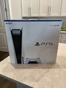 Sony Ps5 Playstation 5 Blu-ray Disc Game Console New