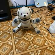 Sony Aibo Latte Ers-311 Entertainment Robot Dog Battery Refreshed Used