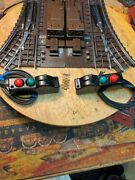 Lionel Pair 112r Super O Switches. Controllers-bus Bars.reconditioned. Very Nice