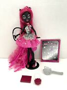Monster High Catty Noir 13 Wishes Scaremester Doll Purse Diary Lot - Read -