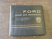 Oem Ford 1960 Dealerand039s Color + Trim Book Galaxie Thunderbird Falcon Starliner