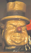 Wc Fields Mccoy Cookie Jar / 1972 / Perfect Condition / No Chip Cracks Or Blemis