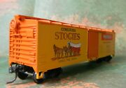 Tmi 40' Ventilated Reefer Wolf Bros. Stogies Rd Wp 305 - Rare Tobacco - Ho