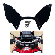 Motocycle Forkshield Updraft Wind Deflector Motorcycle Accessory 45x25x20cm