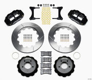 Wilwood Narrow Superlite 6r Front Hat Kit 14.00in For 93-96 Mazda Rx7 - Wil140-1