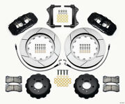 Wilwood Aero6 Front Hat Kit 15.00 For 2007-2011 Bmw E90 Series W/lines - Wil140-