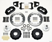 Wilwood Narrow Superlite 6r Front Hub Kit 12.88in 62-72 Cdp B And E Body-drum - Wi