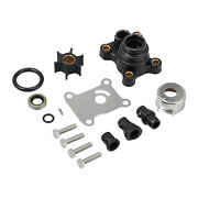 Water Pump Impeller Kit For Johnson Evinrude 2 And 4 Stroke 9.9 15 Hp Replace